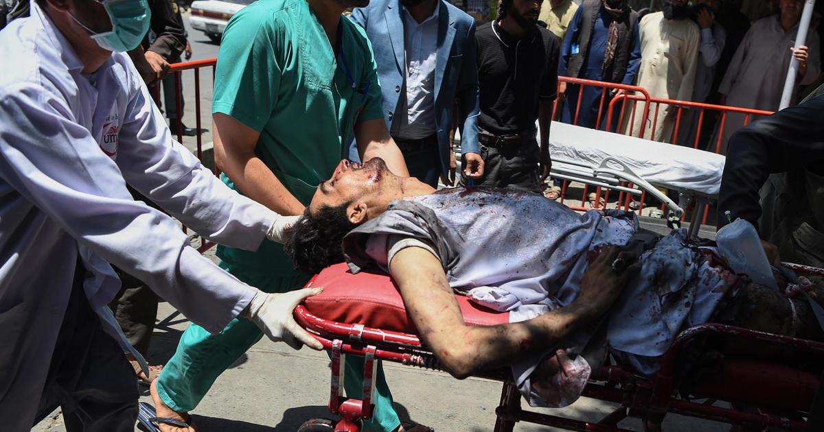 Explosion in Afghanistan rocks Kabul