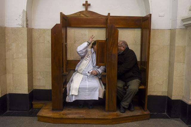 "Catholic Church rejects laws obligating priests to report sexual abuse from  confession box to police as ""unacceptable offense"" today - CBS News"