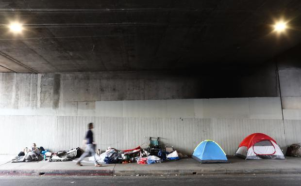 Homeless Populations Surge In Los Angeles County