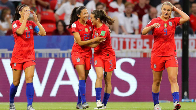 England v USA: Semi Final - 2019 FIFA Women's World Cup France