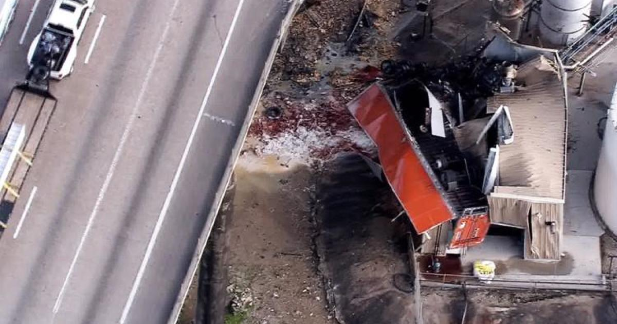 Semi truck crash today: Driver of 18-wheeler killed after crashing