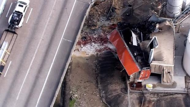 Semi truck crash today: Driver of 18-wheeler killed after