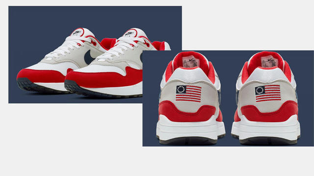 Will Betsy Ross flag shoe controversy