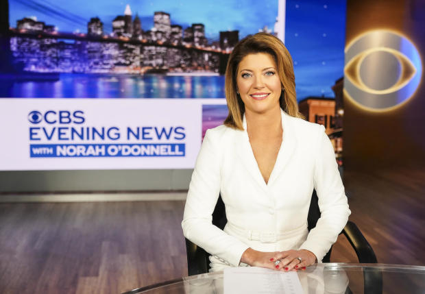 """""""CBS Evening News"""" anchor and managing editor Norah O'Donnell"""