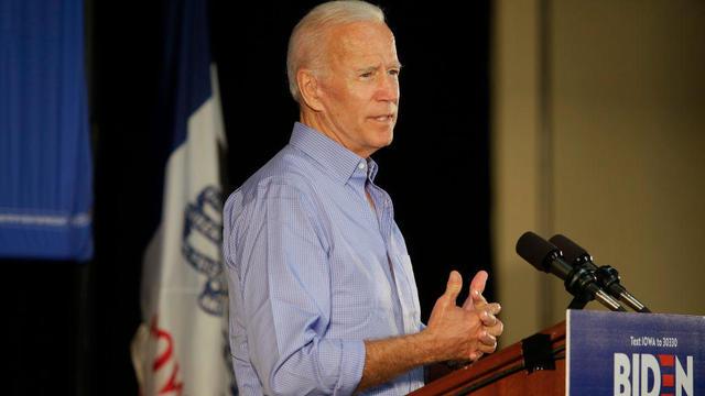 Joe Biden On The Campaing Trail In Marshalltown, Iowa