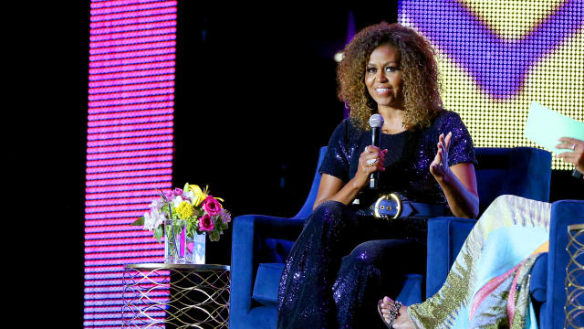 Michelle Obama at Essence Festival