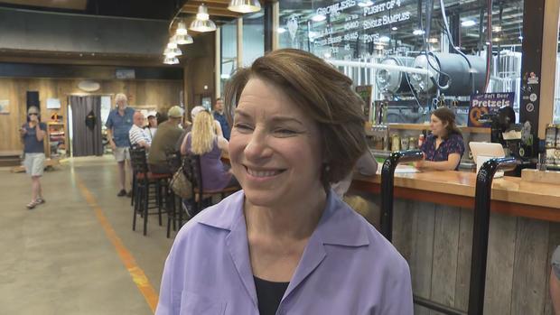 Amy Klobuchar CBS News interview