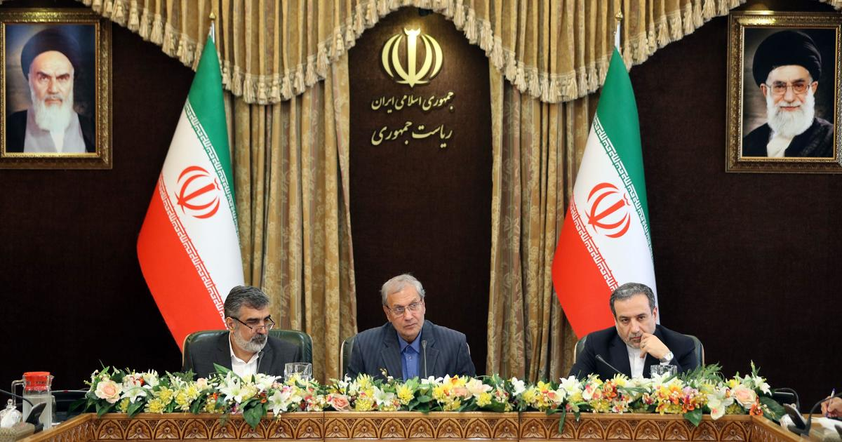 Iran Why Not Just Go On And Break All >> Iran News Tehran Breaks Iran Nuclear Deal Limit On Uranium