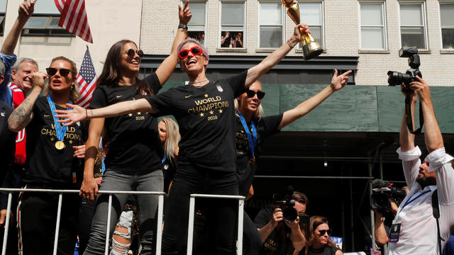 Women's World Cup Champions Parade