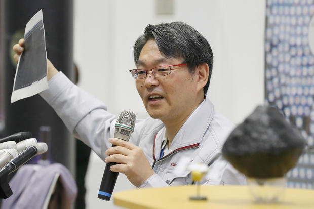 JAPAN-SPACE-SCIENCE-HAYABUSA