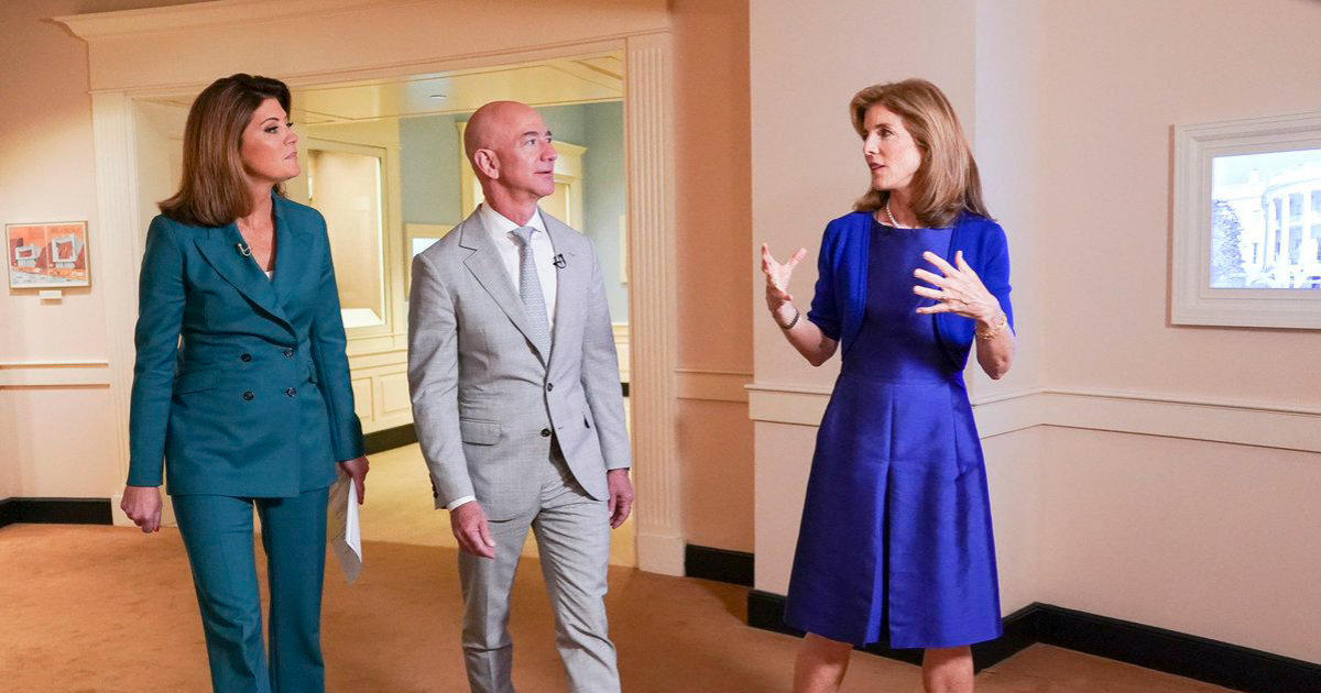Jeff Bezos and Caroline Kennedy on Apollo 11 and the future of space travel