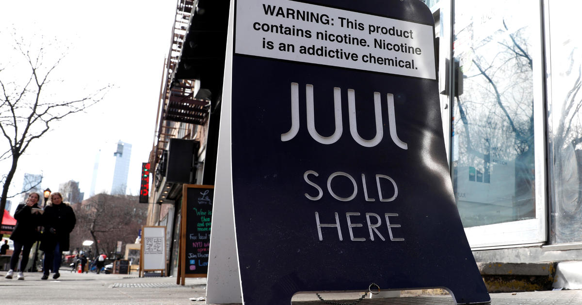 Juul CEO tells non-smokers not to vape or use his company's product