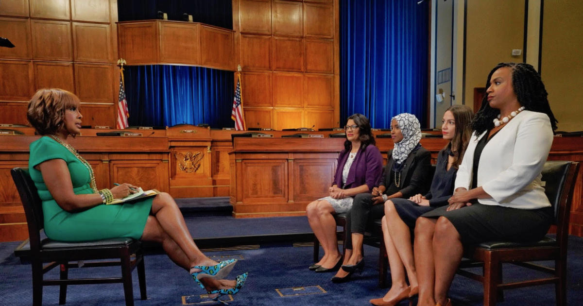 Democratic congresswomen interview with CBS' Gayle King