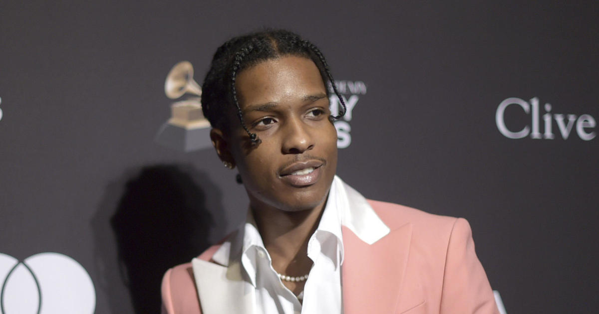 A$AP Rocky charged with assault in Sweden today and will