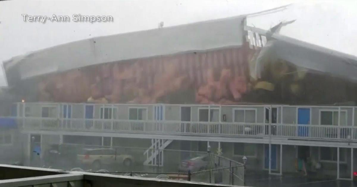 Cape Cod tornado: High winds rip roof off hotel as rare