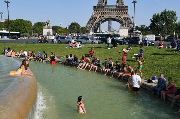 Europe bakes through heat wave like none other in history
