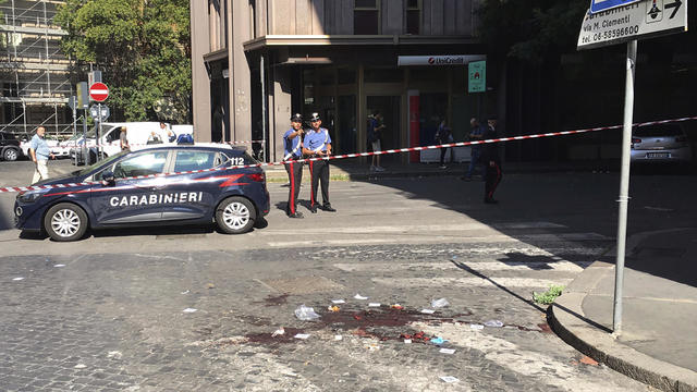 Italy Killed Policeman