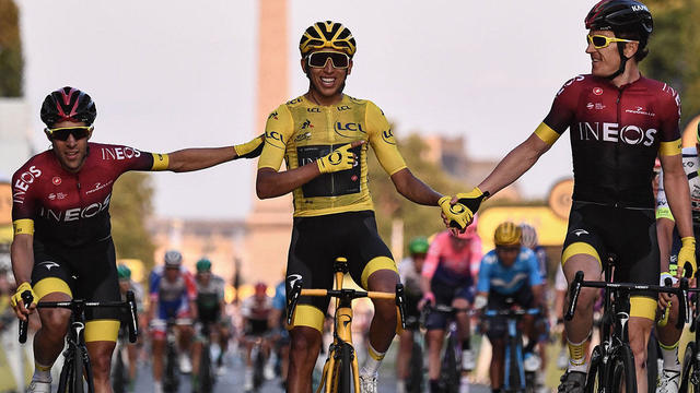 Egan Bernal wins 2019 Tour de France