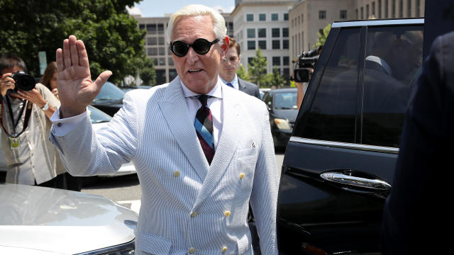 Motion Hearing For Trump Associate Roger Stone In U.S. District Court In D.C.