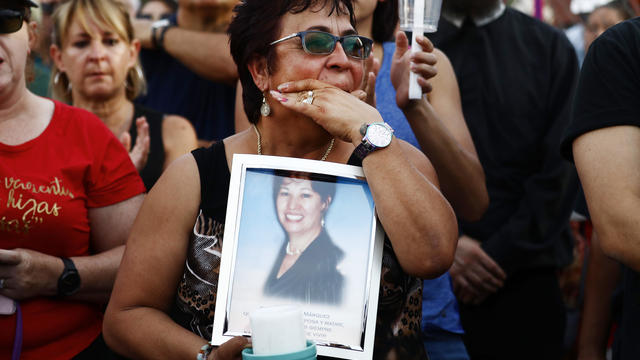 El Paso victim vigil