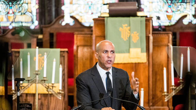 Democratic Presidential Candidate Cory Booker (D-NJ) Gives Address On Gun Violence And White Nationalism At Mother Emanuel AME Church