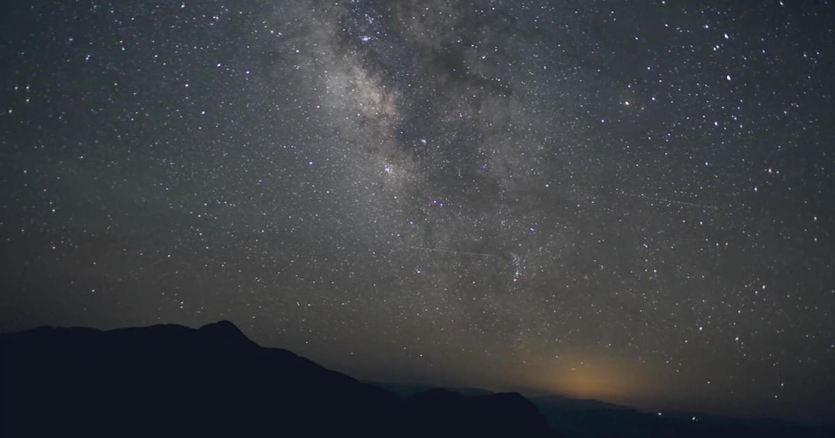 Historic train takes passengers stargazing in the Great Basin Desert