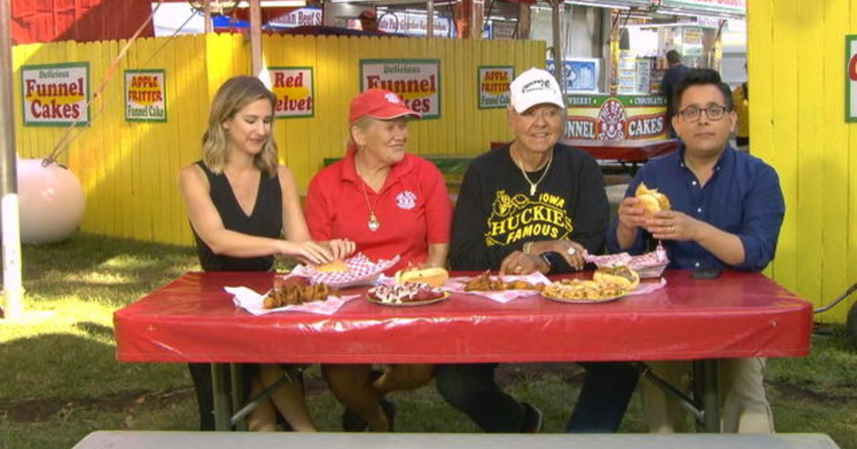 Iowa State Fair combines fried food and political speeches