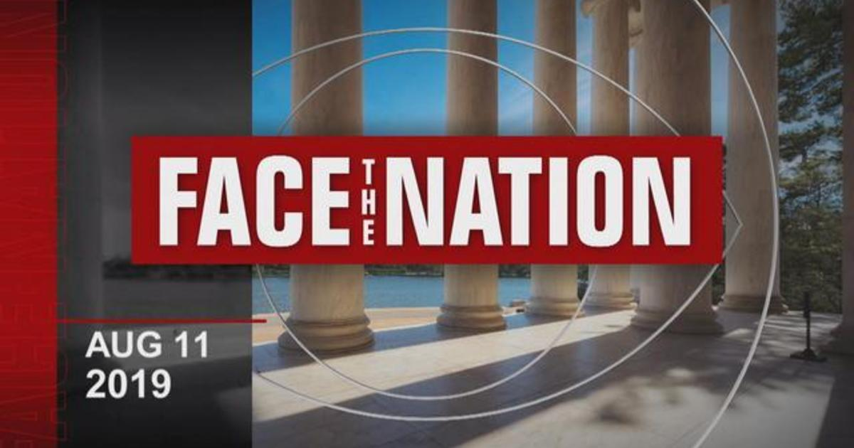 """Open: This is """"Face the Nation,"""" August 11"""