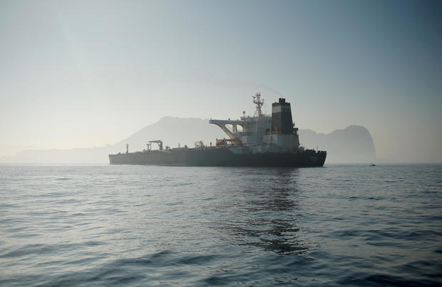 Iran oil tanker Grace 1 free to leave Gibraltar but captain