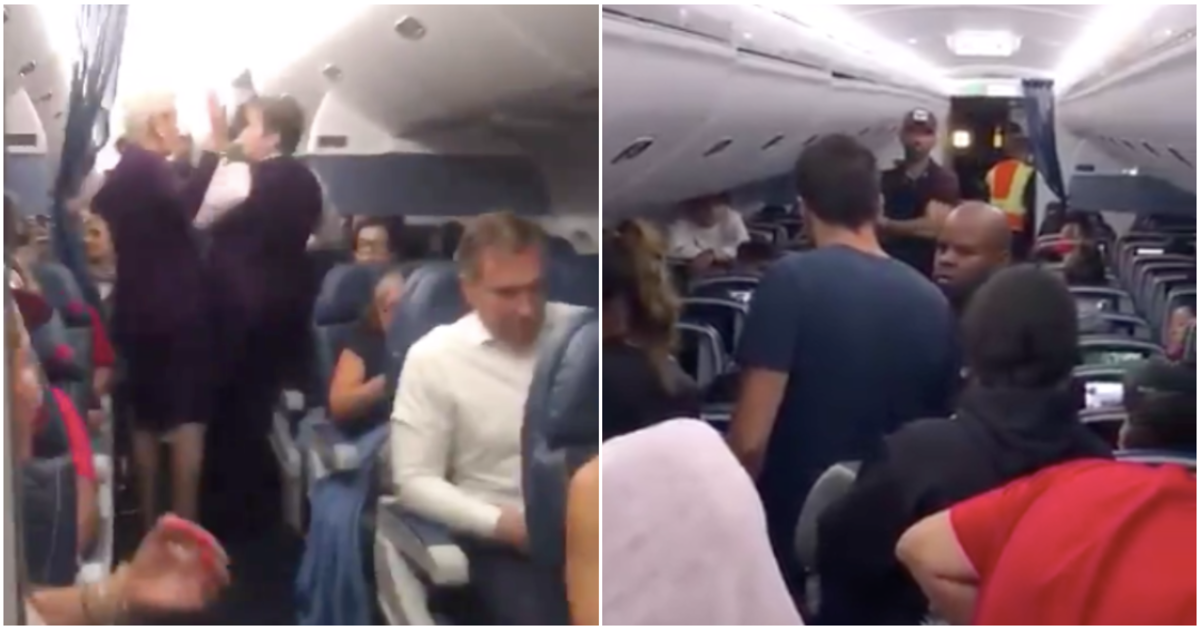 Image result for Brawl breaks out on delayed Delta flight at JFK airport