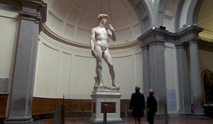 Michelangelo's David, a Renaissance masterpiece