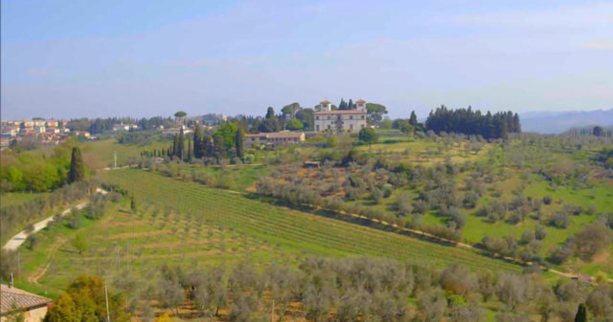 The royal Corsini estate in Tuscany
