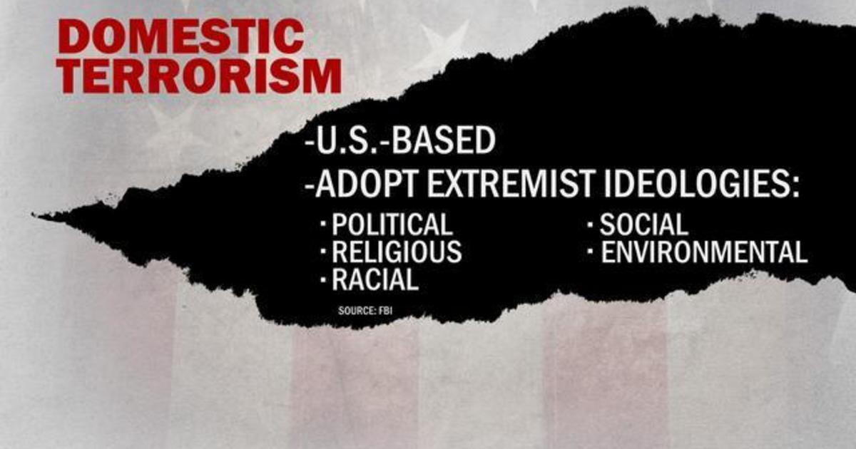 We need to tackle domestic terrorism like we do foreign threats, expert says