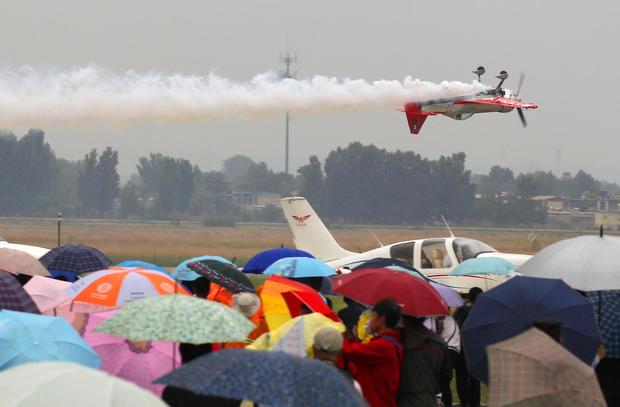 The 8th China (Anyang) Int'l Aviation Sports Tourism Festival Kicks Off
