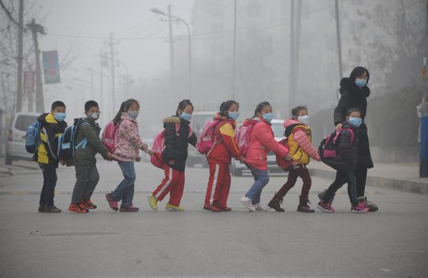 TOPSHOT-CHINA-ENVIRONMENT-POLLUTION