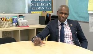 Former custodian returns to school as the principal