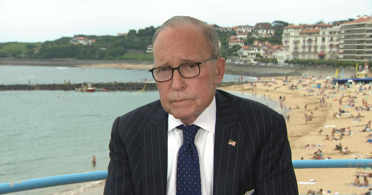 """Larry Kudlow on """"Face the Nation"""": China bearing the brunt of escalating trade war with U.S"""