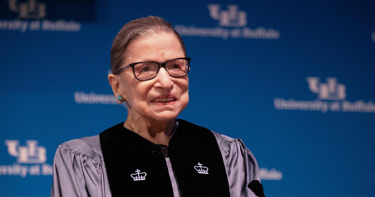 Ruth Bader Ginsburg hospitalized for