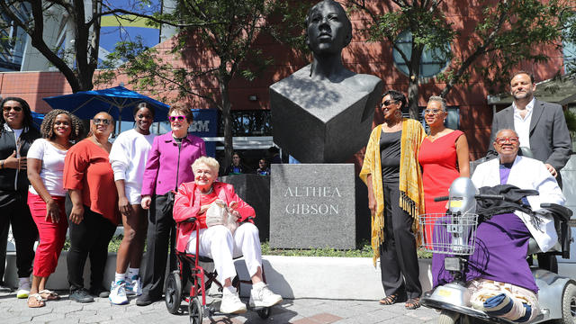 Althea Gibson sculpture