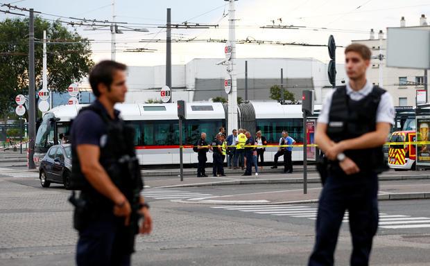 France stabbing attack