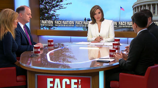 Face the Nation: Margaret Brennan interviews politicians and