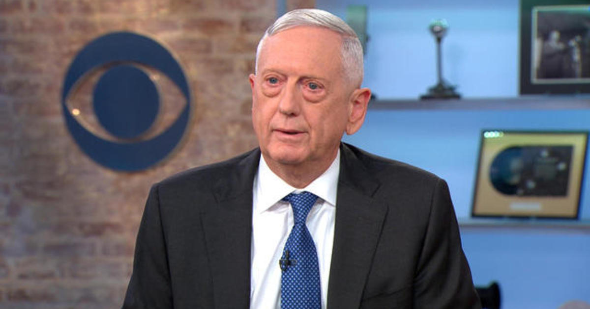 James Mattis says divisiveness is the biggest threat to U.S. democracy