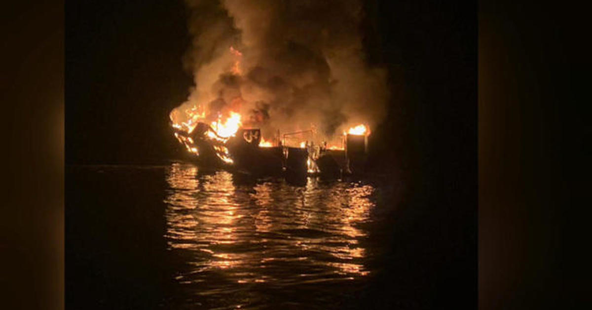 """You can only imagine the horror"": Couple who rescued California boat fire survivors speaks out"