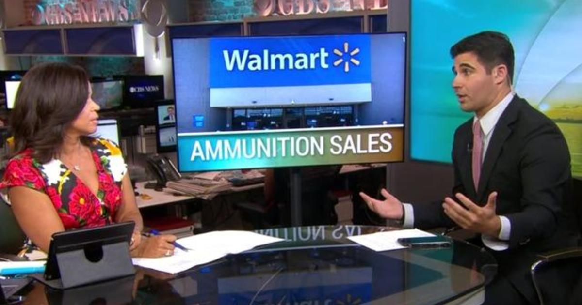 Walmart to stop some ammunition sales