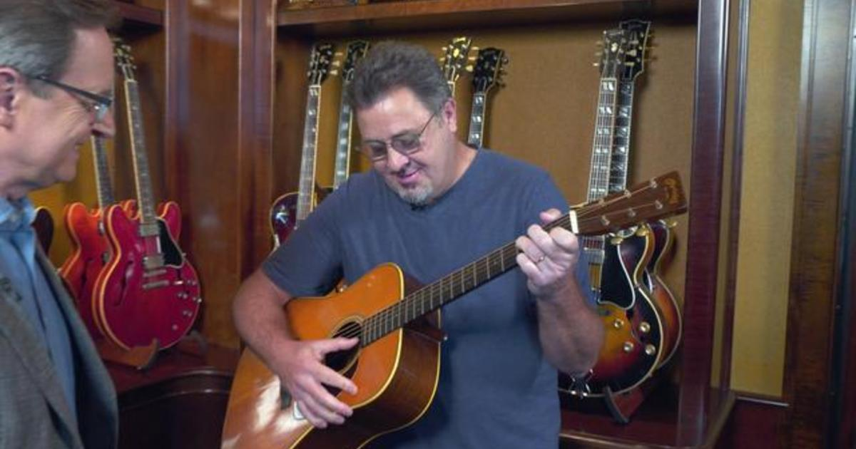 Vince Gill on buying his first guitar for $1,600