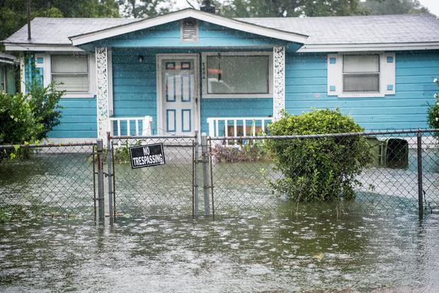 Hurricane Dorian Makes Its Way Up East Coast