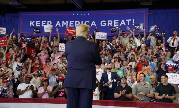 Donald Trump in North Carolina