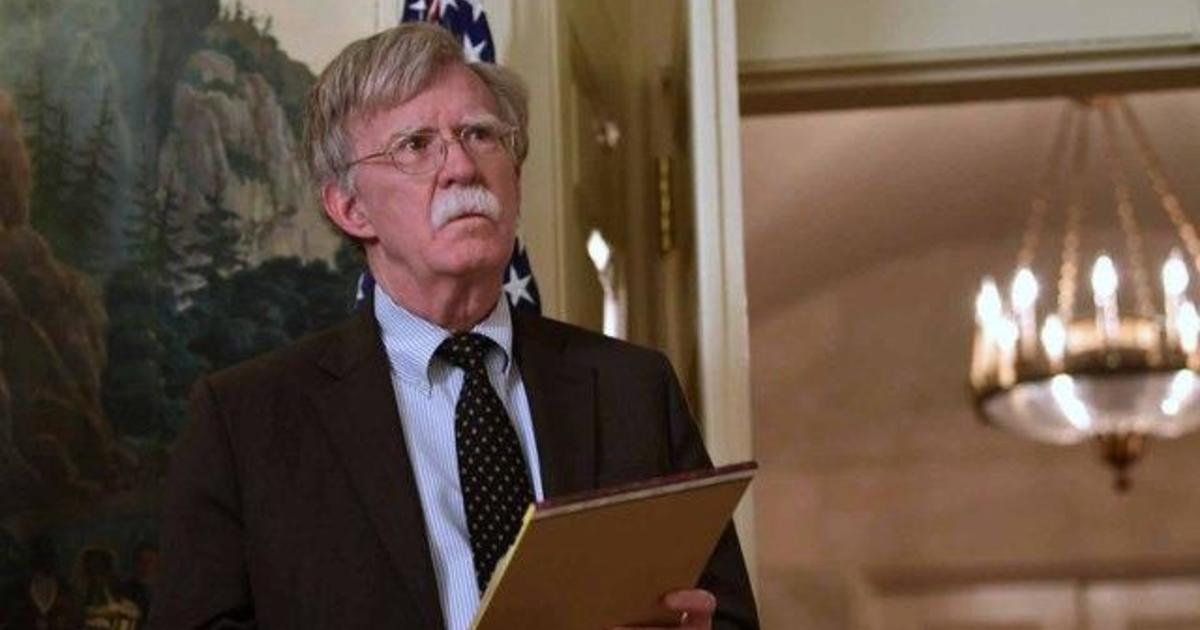 photo image Bolton and Trump offer different versions of national security adviser's exit