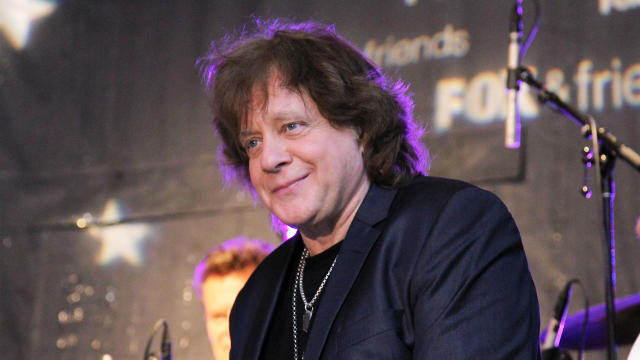 """Eddie Money performs during the """"Fox & Friends"""" All American Concert Series outside Fox studios on June 7, 2013, in New York City."""