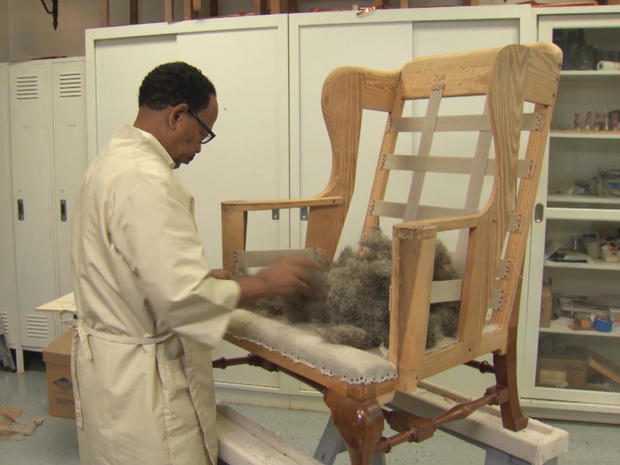 Cool Upholstery Csi Preserving Antique Furniture At Colonial Ibusinesslaw Wood Chair Design Ideas Ibusinesslaworg
